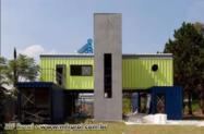 Casa Container Casa feita em Container Escritorio Loja em Santa Catarina