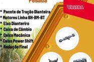 COMPONENTES VALTRA - MOTOR, CAMBIO E EIXO DIANTEIRO