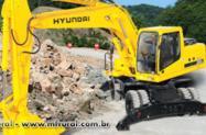 Escavadeira 500 HYUNDAI  50 Tonelada Pequena Entrada + prestação aparti 2.192,00