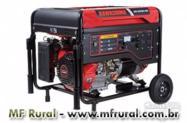 Gerador Kawashima GG 6000-ES/ GG 6000-ET  - 6.000 W Gasolina/Mono ou Trifásico/Part.Elétrica