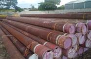 "Tubo de Aço de 14"" x 18,0 mm x 12,8 mts"