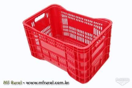 Caixa Plastica Agricola   Hortifruti  / Florestal  / Frango Empilhaveis