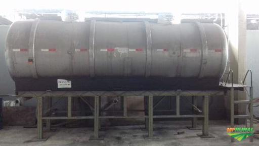 TANQUE INOX -  REATOR - LAVADOR DE GÁS - MEXEDORES