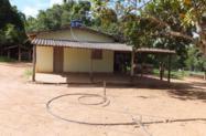 Chácara de 2,7889 ha com casa, córrego e rio no município de São Francisco de Goiás